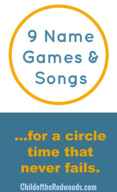 9 Never Fail Name Games and Songs for Circle Time — Child Development Institut. - 9 Never Fail Name Games and Songs for Circle Time — Child Development Institute of the Redwoods - Toddler Circle Time, Circle Time Games, Circle Time Activities, Name Activities, Toddler Class, Toddler Activities, Circle Time Ideas For Preschool, Circle Game, Movement Activities
