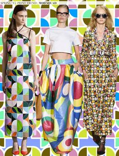 Spring 2015 Runway Trends: Mod Squad | Aaryn West – Surface Design