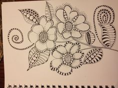 Zentangle Pretty!!