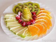 Красивая нарезка фруктов – неотъемлемая часть праздничного стола, будь-то- семейный праздник, или оф