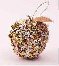 スパンコールのりんご