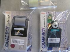 Game Boy Printer et Caméra