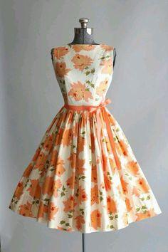 Pretty 50s dress