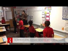 GENIUS LADDER:  Mrs. Shipley's Kinders tackle the Genius Ladder!