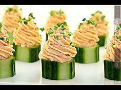 Reteta mousse de somon - Adygio Kitchen - YouTube Mousse, Canapes, Starters, Zucchini, Vegetables, Seafood Recipes, Fish, Fine Dining, Sofas