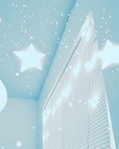 Get Rid of the Monday Blues w/ These Blue Home Decor Ideas - bleu clair peinture Light Blue Aesthetic, Blue Aesthetic Pastel, Aesthetic Colors, Aesthetic Pictures, Night Aesthetic, Aesthetic Art, Ravenclaw, Image Bleu, Everything Is Blue