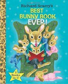 Richard Scarry's Best Bunny Book Ever! (Richard Scarry) (Little Golden Book Favorites): Richard Scarry: 9780385384674: Amazon.com: Books