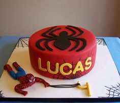 Spiderman cake by cakespace - Beth (Chantilly Cake Designs), via Flickr