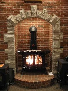 woodstove surround | Vermont Castings Wood Burning Stove at Hechler's Hearth & Home