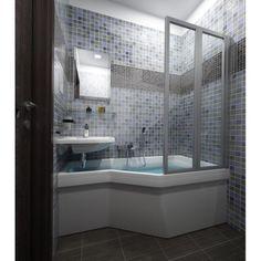 Une jolie baignoire Gain de Place - BeHappy - à partir de 150 x 75 cm et reste très confortable !