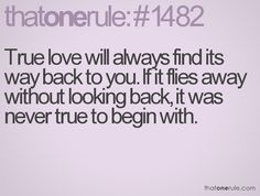 its hard to accept that when it happens, but youll always find something better.