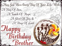 Brothers birthday cards free happy birthday brother free brother birthday wishes for brother birthday images pictures m4hsunfo