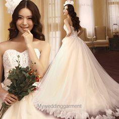 Princess Sweetheart Tulle Wedding Dress / Bridal Dress / Wedding Gown