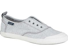 2667b23b8668 Sperry Top-Sider Womens Paul Sperry Sayel Clew Diamond Sneakers in Grey  STS99334 Sperry Top