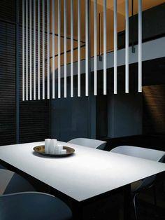 LED Deckenleuchte aus Aluminium FURIN R5 by Rotaliana Design Kengo Kuma