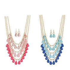 A glamorous necklace and earring set to elevate your classic wardrobe. Regularly $19.99, shop Avon Jewelry online at http://eseagren.avonrepresentative.com