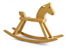 Drewniany koń na biegunach Rocking Horse - KAY BOJESEN - 72120cac898494394f489d72fcfe736befe44fb2