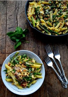 Chicken Penne With Asparagus