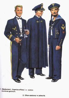 ¡Hola!    Hoy les traigo una serie de laminas con una muestra de los uniformes que llevaban los hombres de la Kriegsmarine:     Láminas Ospr...