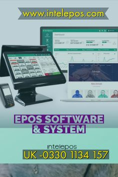 Epos System for Takeaway Order Management System, Kitchen Display, Caller Id, Nottingham, Software, The Unit, Business, Store, Business Illustration