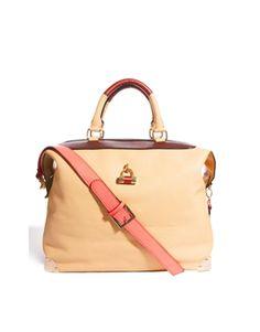 Paul's Boutique Harriet Oversized Padlock Tote bag