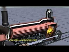 Animation of How a Steam Locomotive's Boiler Works. Watch more trailers: http://www.ultimaterestorations.com - find more information on the series.