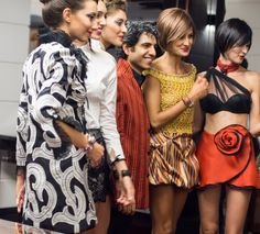 Jamal Taslaq tribute to the 50th year of Mary Quant mini-skirt