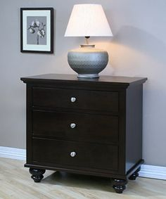 Exact dimensions needed Nightstand Ideas, 3 Drawer Nightstand, Master Bedroom, Bedroom Decor, Big Girl Rooms, House Decorations, Night Stand, Dressers, Condo