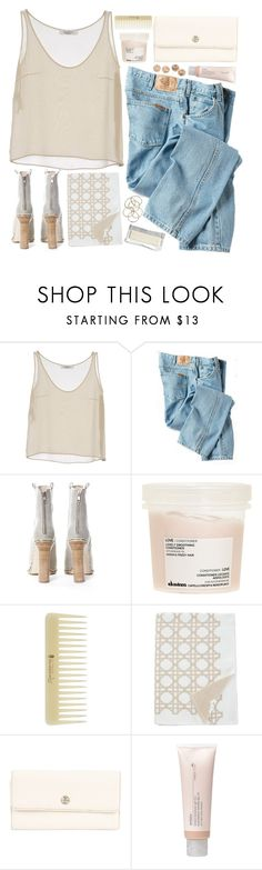 """Peace of mind"" by n-eutral ❤ liked on Polyvore featuring Valentino, Dickies, Opening Ceremony, Davines, Uppercase, Giani Bernini, Aveda and H&M"