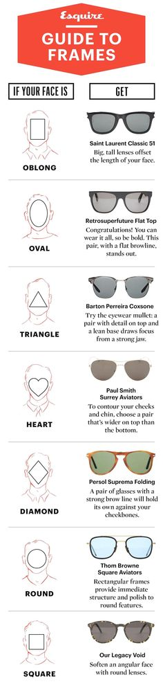 4e92694888 How to pick the best How to pick the best sunglasses for your face. Glasses