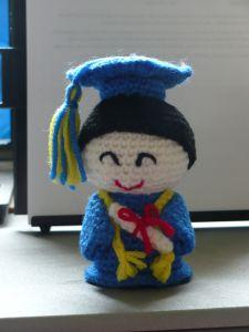 Amigurumi Graduate Student