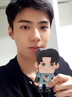 Sehun - 170502 Official SMTown SUM weibo update  Credit: Official SMTown SUM weibo.