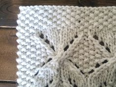 Handmade Umaro Knit Baby Blanket by Erin Allen Knitted Baby Blankets, Merino Wool Blanket, Knitting Designs, Knitting Patterns, Baby Knitting, Knit Crochet, Buy And Sell, Handmade, Stuff To Buy