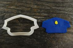 Our cookie cutter is an excellent addition to any cookie cutter collection! Perfect for hobbyist or professional bakers. Our cutter plastic is safe, durable and reinforced to support use over many yea Police Officer Wife, Police Hat, Class Decoration, Cookie Cutters, Cookies, Mini, Hats, Handmade Gifts, Cleaning Tips