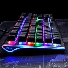 aed1f54fa [44.99] Royal Kludge RK Side 108 108 Keys RGB USB Wired Mechanical Gaming  Keyboard