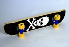 Lego Death Skateboard