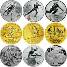 Sochi 2014 coins  :)