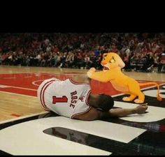 Simba + Derrick Rose EQUALZ Funny and :(