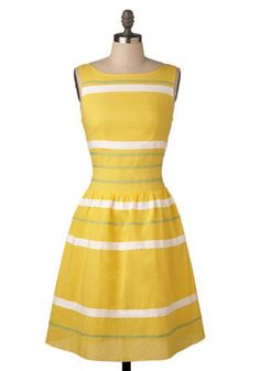 Limoncello Retro dress. I'm working hard so that I can wear beautiful dresses like this!