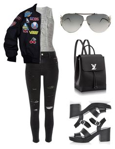 """""""Untitled #567"""" by dariannemarie ❤ liked on Polyvore featuring Topshop, Miss Selfridge, River Island and Roberto Cavalli"""