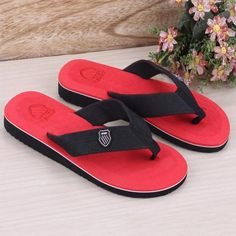 3370e3d2a92016 5 Color Newest Mens Summer Outdoor Beach Flip Flops Slippers Brand New and  High Quality