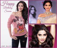 Sir N Maam Is wishing a very Happy birthday top our Fashionsita Sonam Kapoor :) #Fashionsita #Sonamkapoor #Neerja #Celebrityfashion #CelebrityStyle #BollywoodDivas #WomensFashion