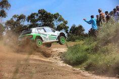 Kopecky en los test previos al Rally de Portugal con el Skoda Fabia R5. #WRC2 #WRC #RallyPortugal FOTO VÍA: Rubén Pérez