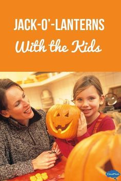 Nothing says Halloween quite like a Jack-o-lantern! They can be spooky, funny, silly or happy! Your kids will love making these with you this October!
