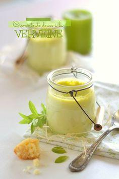 Petites crèmes à la verveine - La Gourmandise selon Angie !