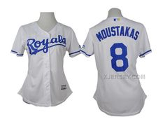 http://www.xjersey.com/royals-8-moustakas-white-women-jersey.html Only$35.00 ROYALS 8 MOUSTAKAS WHITE WOMEN JERSEY Free Shipping!
