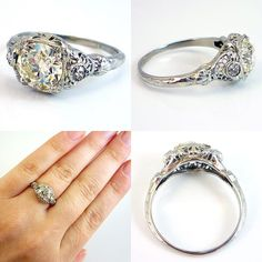 This might be the most perfect ring ever! Can I get that with Cubic?lol