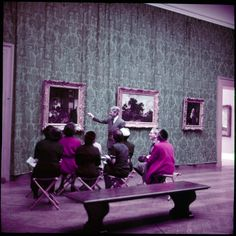 The Metropolitan Museum of Art, Paintings Gallery 8: 17th- Century Spain and Low Countries, The Altman Collection; With people. Photographed in 1955. Image © The Metropolitan Museum of Art