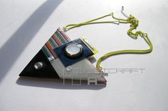 Handmade jeweleries & accessories from recycled electric materials.