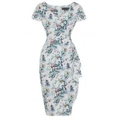 Elsie Dress - Benoa Watercolour